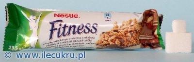 Ile cukru jest w batoniku Nestle Fitness